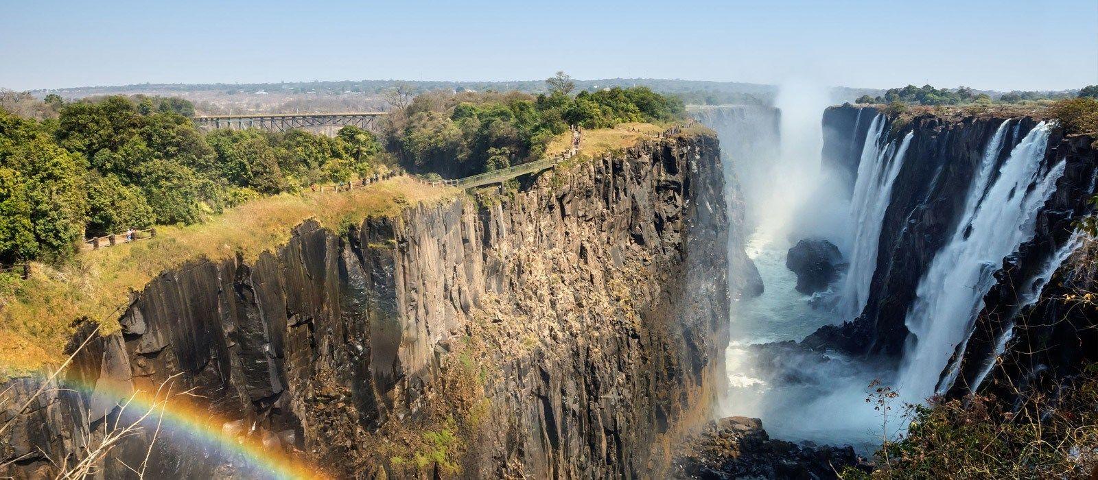 Naturreise in Simbabwe & Botswana: Wasserfälle & Wasserwege Urlaub 2