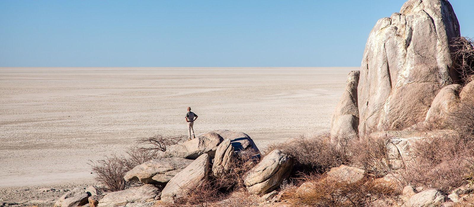 Destination Kalahari Salt Pans Botswana