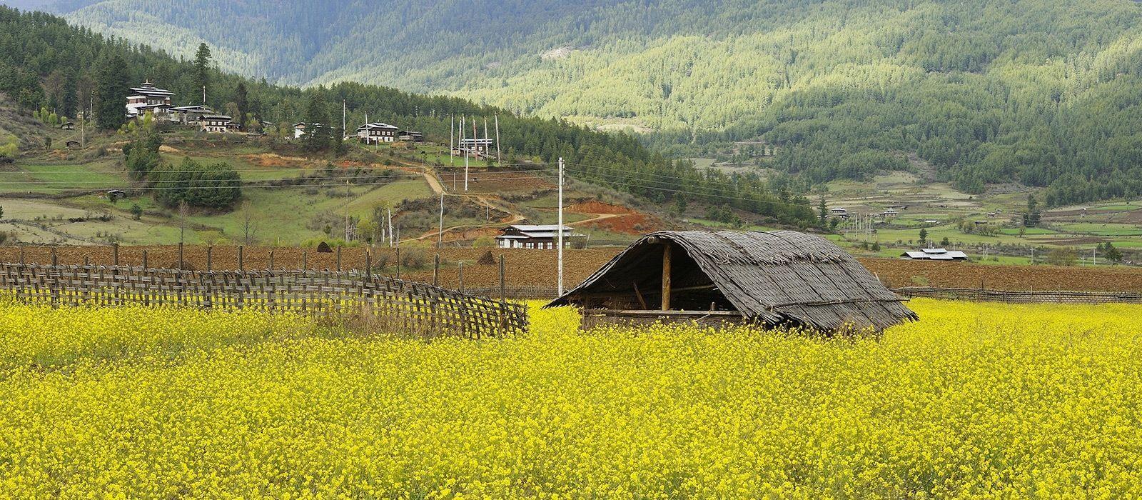 Reiseziel Bumthang Bhutan