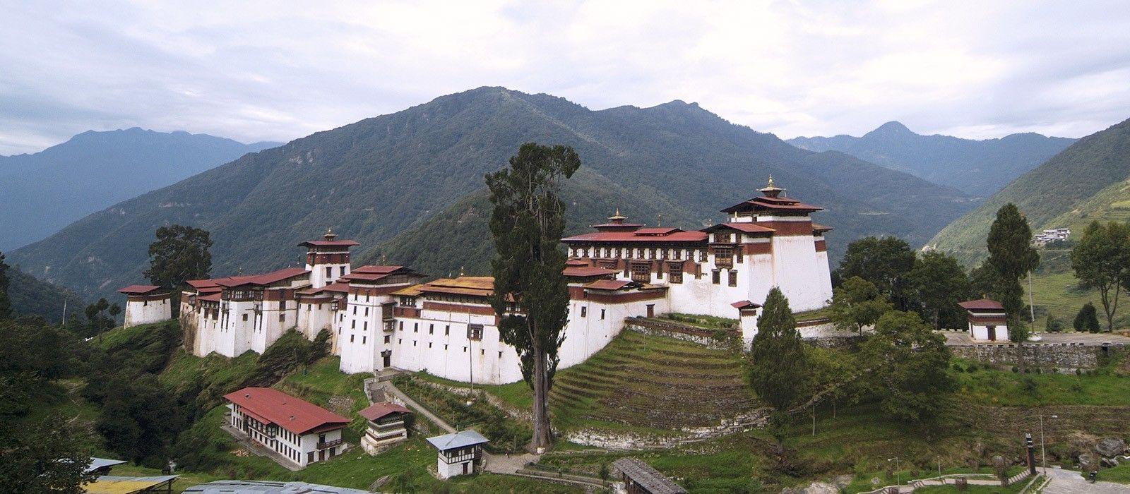 Reiseziel Trongsa Bhutan