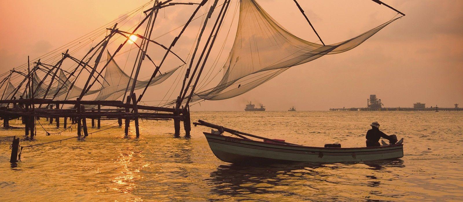 Reiseziel Kochi Südindien
