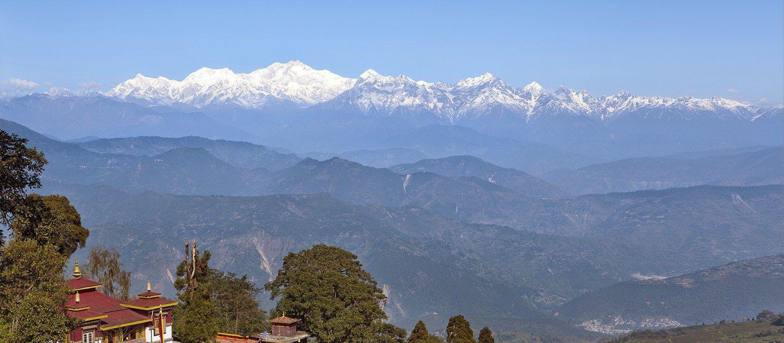Reiseziel Darjeeling Ostindien