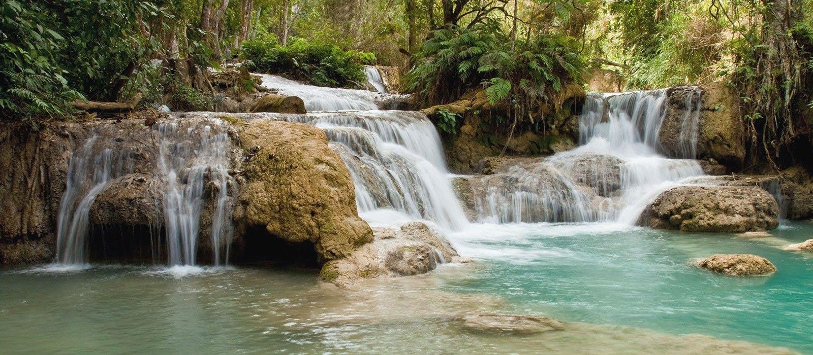 Laos Reise zu Lande und zu Wasser Urlaub 1