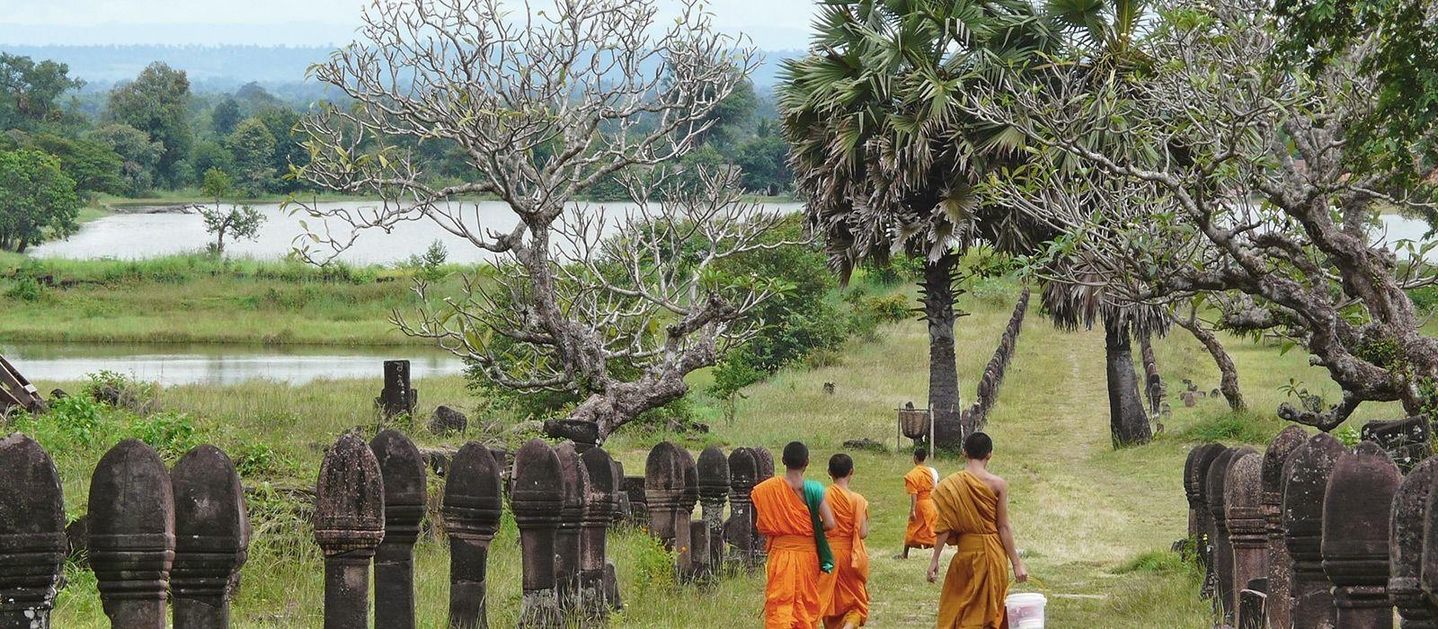 Laos Reise zu Lande und zu Wasser Urlaub 4
