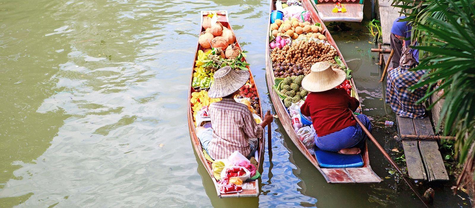 Staunen, Shoppen & Sonnen in Thailand Urlaub 4