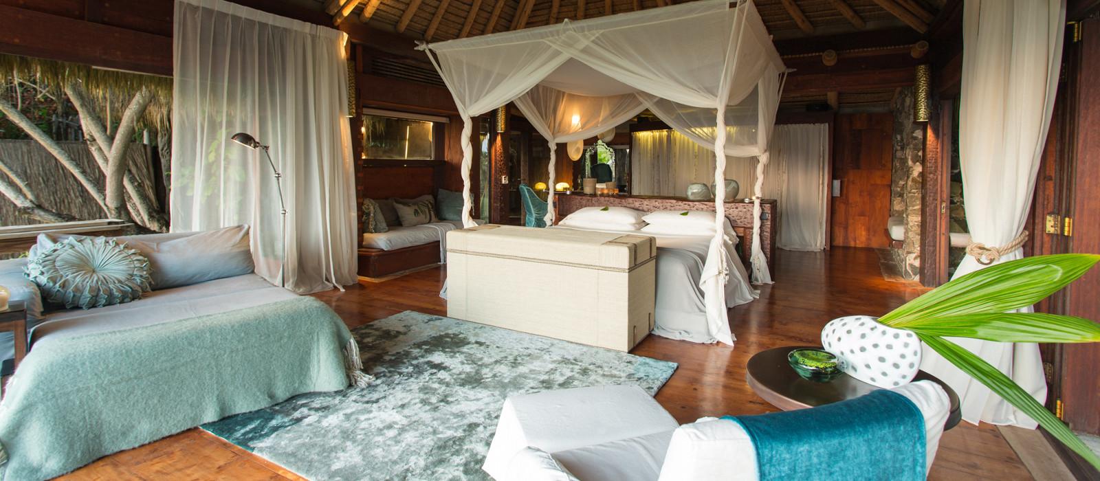 Hotel North Island Seychellen
