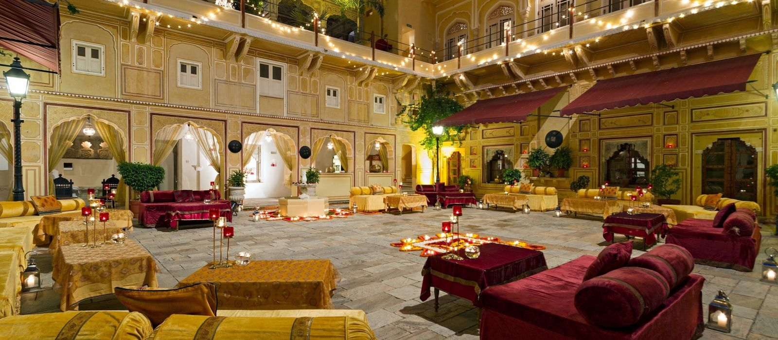 Hotel Samode Palace North India
