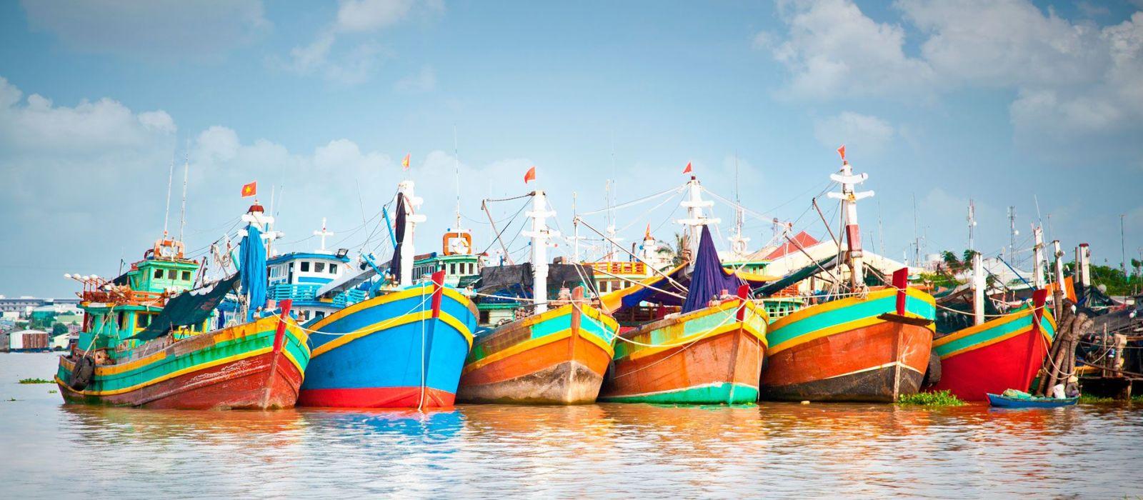 Reiseziel My Tho / Mekong Delta Vietnam