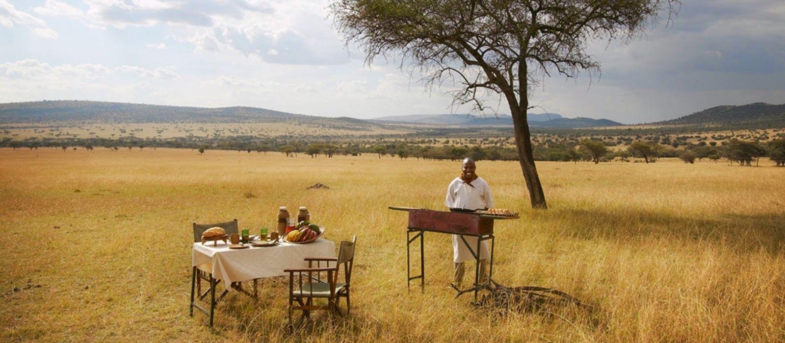 Luxus am See, Wildnis und wilde Tiere in Tanzania Urlaub 2