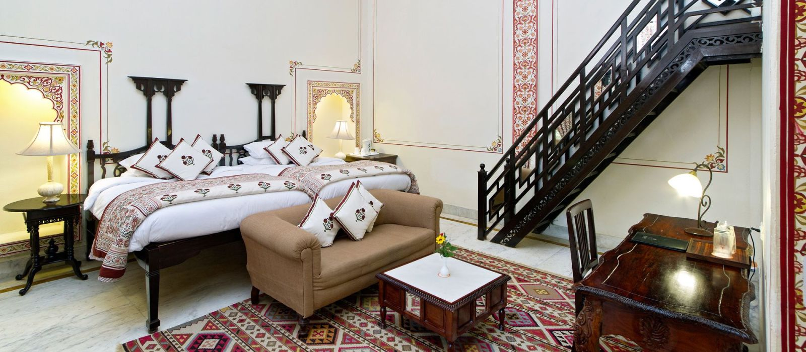 Hotel Rohetgarh Fort  Nordindien