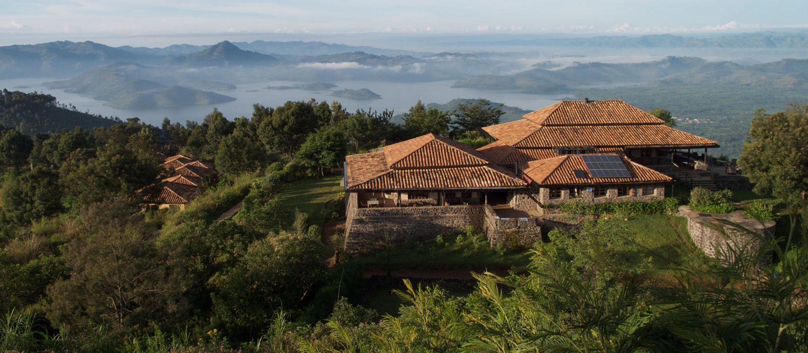 Hotel Virunga Lodge Ruanda