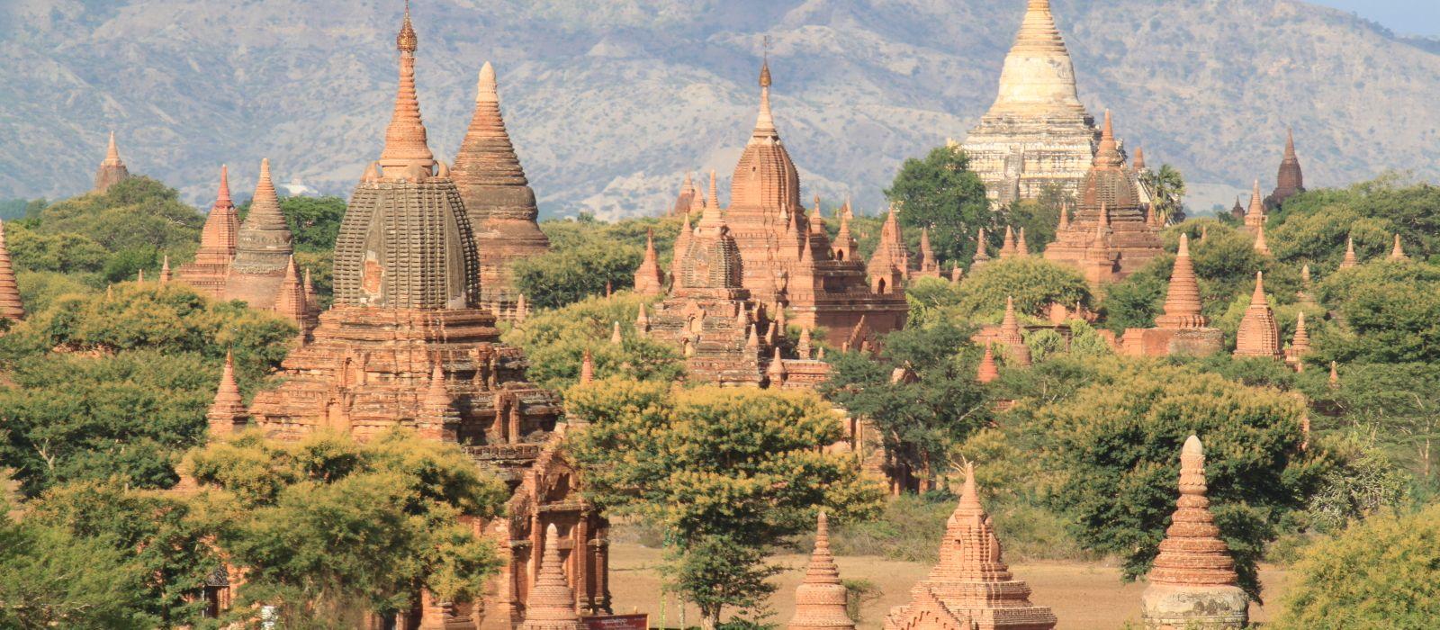 Reiseziel Nyaung U Myanmar