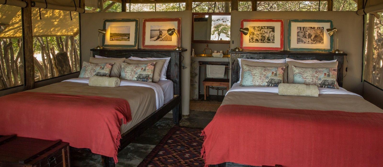 Hotel Meno a Kwena Tented Camp Botswana