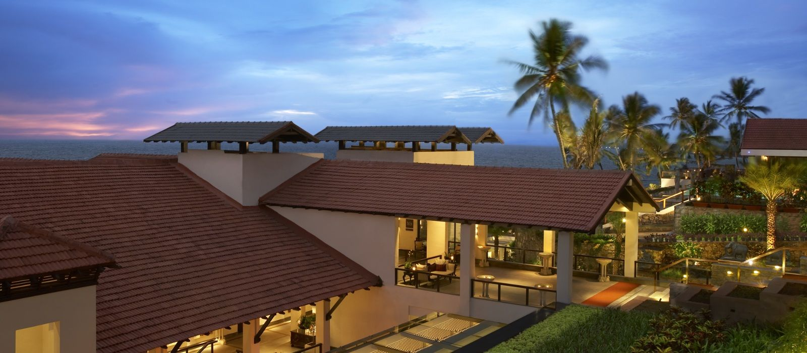 Hotel The Leela Kovalam Südindien