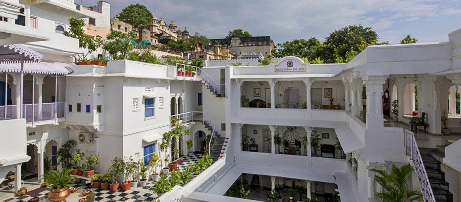 Hotel Jagat Niwas Palace North India