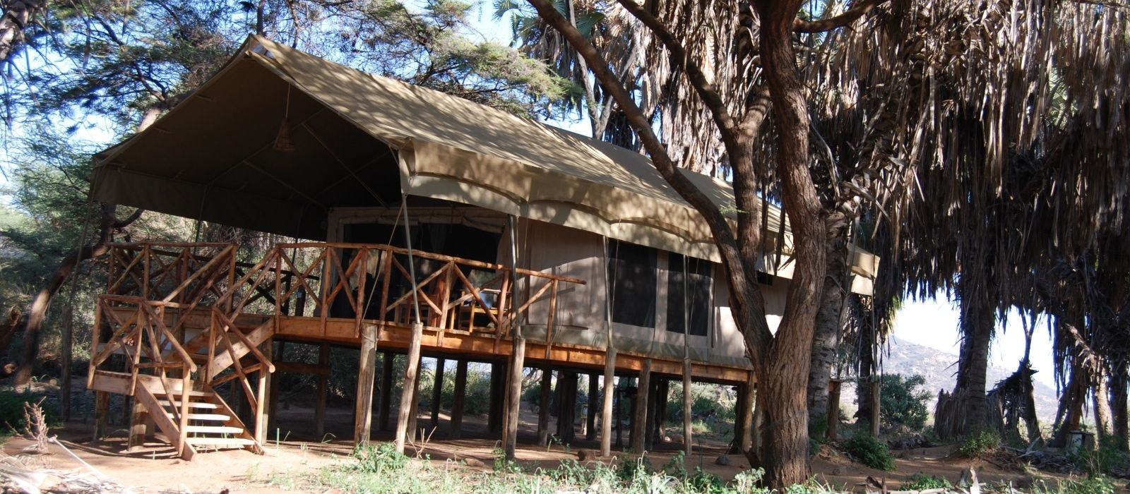 Hotel Elephant Bedroom Camp Kenia