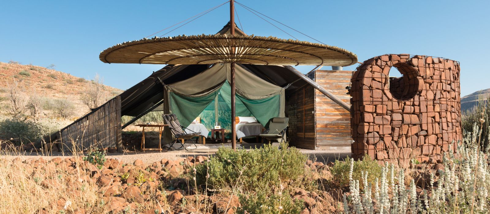 Hotel Etendeka Mountain Camp Namibia