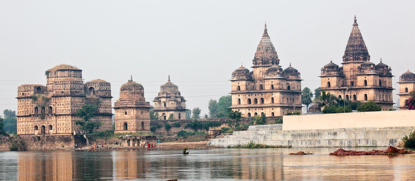 Reiseziel Orchha Nordindien