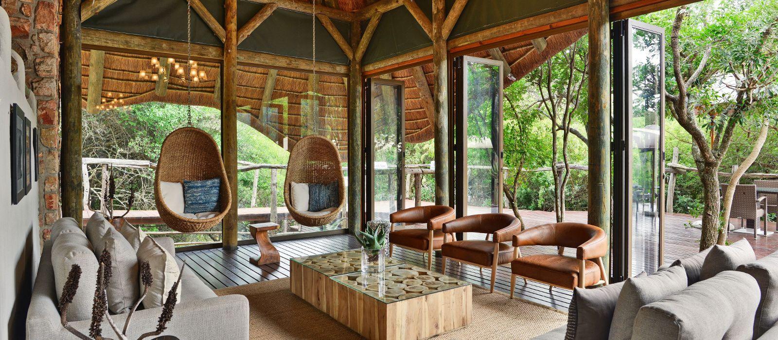 Hotel Shamwari Bayethe Lodge Südafrika