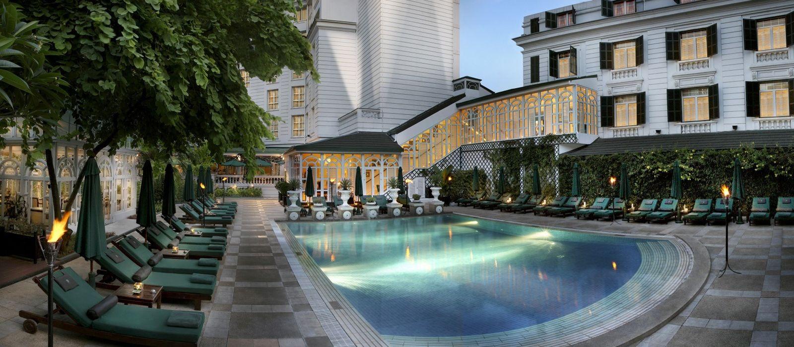 Hotel Sofitel Legend Metropol Hanoi Vietnam