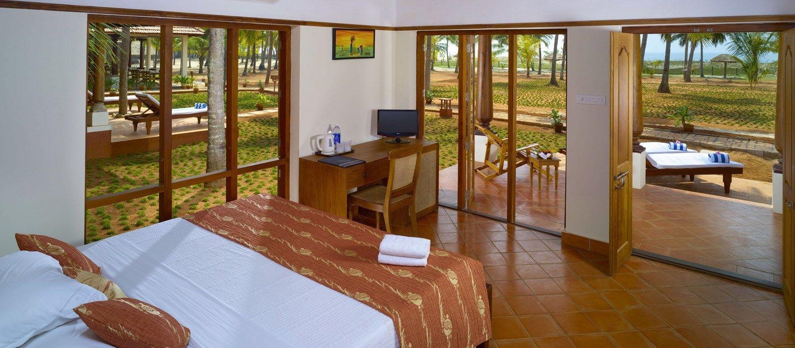 Hotel Nattika Beach Resort Südindien