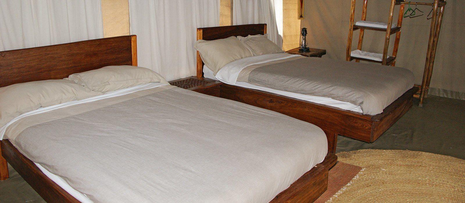 Hotel Nieleze Serengeti Camp Tansania