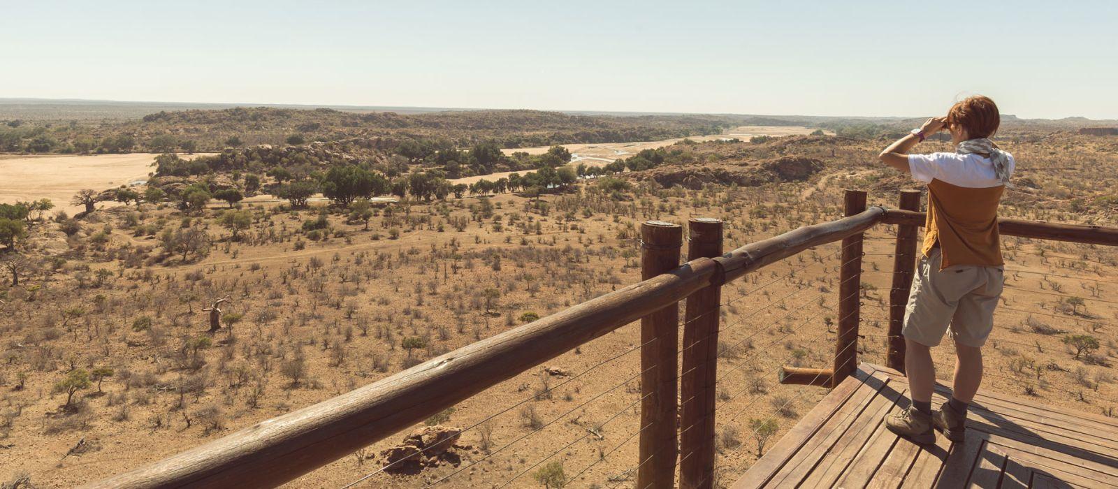 Reiseziel Mapungubwe Südafrika