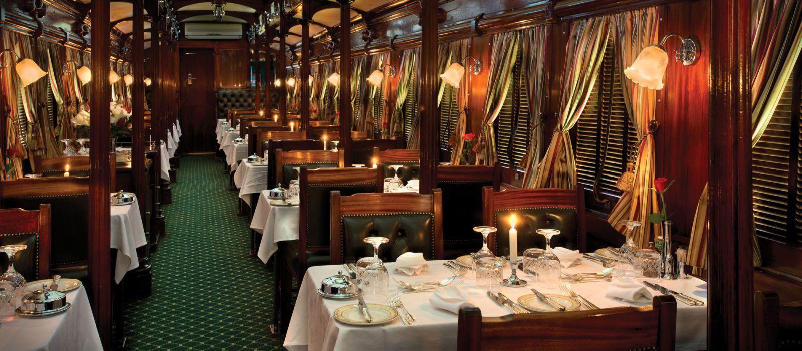 Hotel Rovos Rail: Pretoria – Victoria Falls South Africa