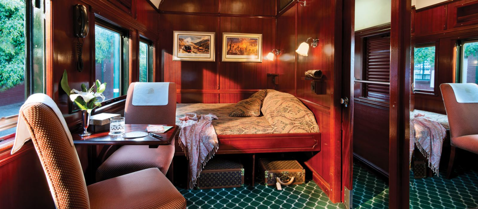 Hotel Rovos Rail: Pretoria – Cape Town South Africa