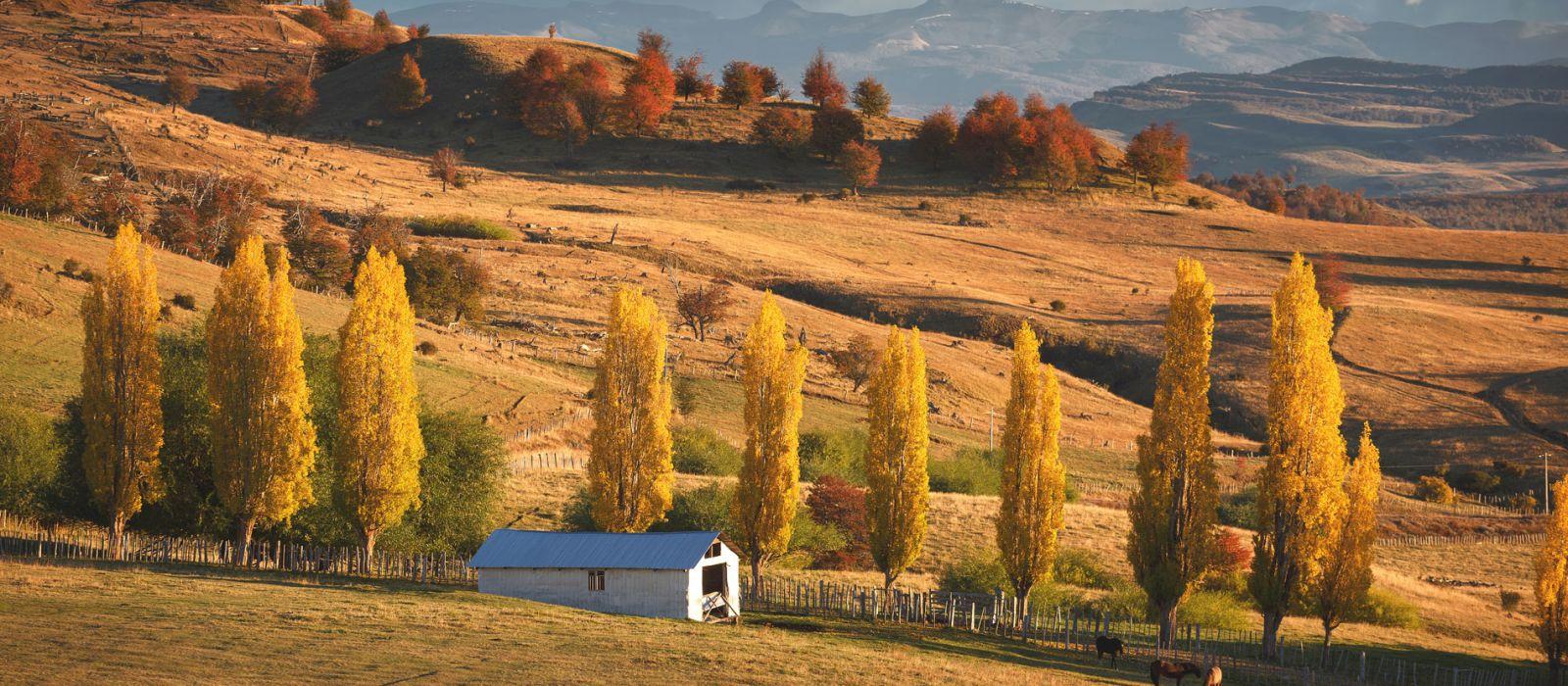 Reiseziel Coyhaique Chile