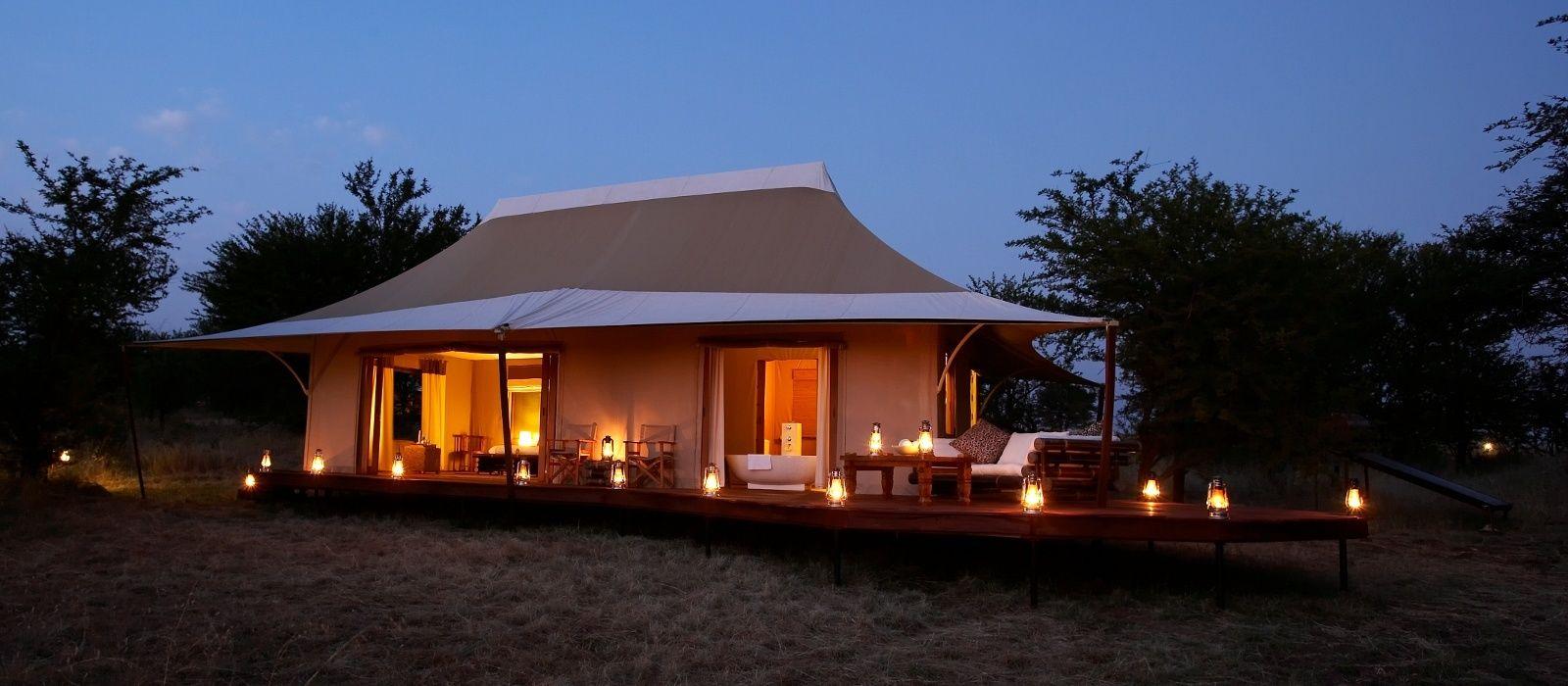 Hotel Sayari Camp Tansania