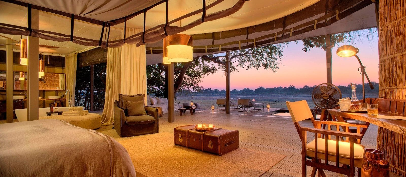 Hotel Chinzombo Lodge Zambia