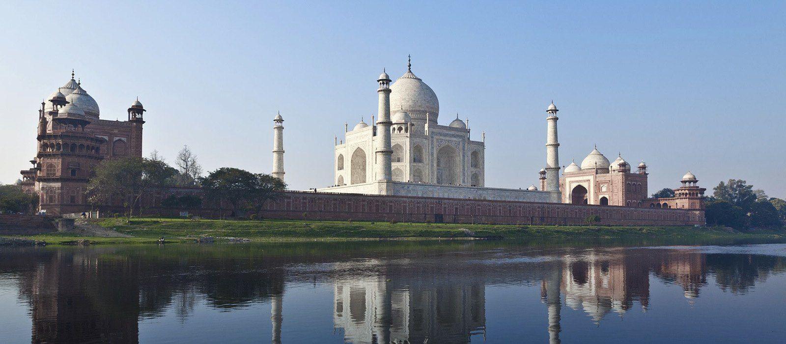 Taj Mahal und Berggipfel: Vom Goldenen Dreieck zum Himalaya Urlaub 2