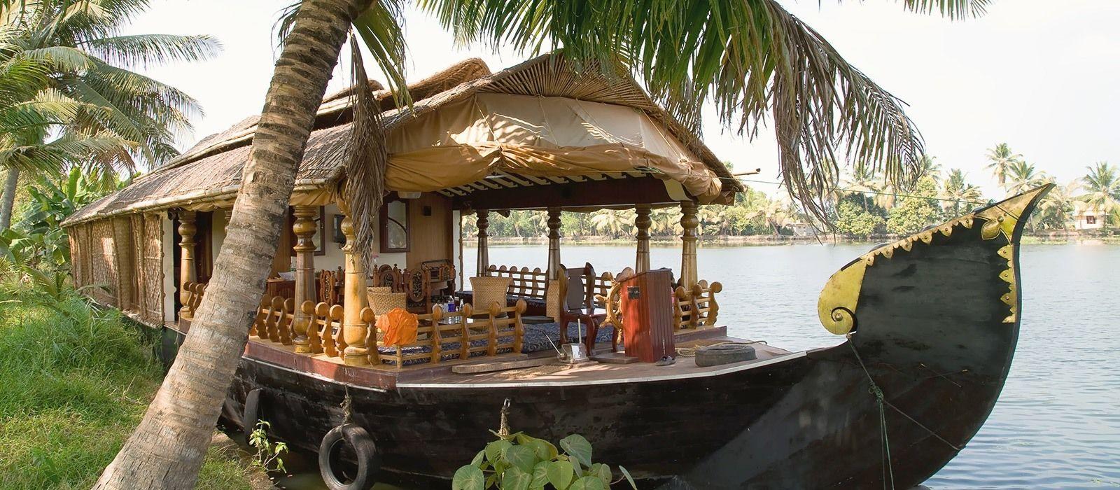Reiseziel Alappuzha Südindien