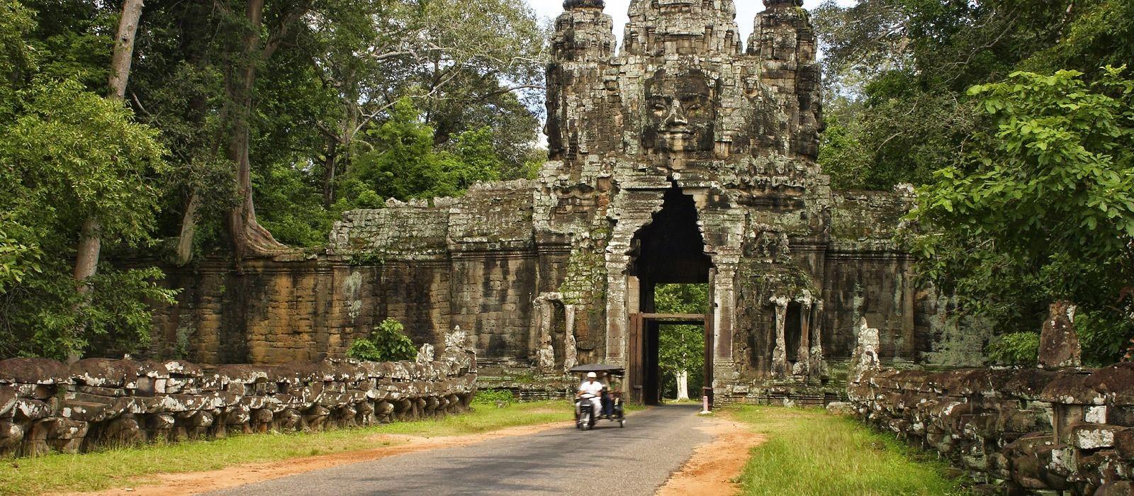 Destination Kompong Thom Cambodia