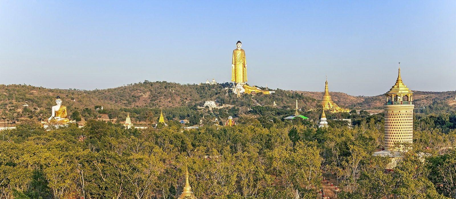 Reiseziel Monywa Myanmar