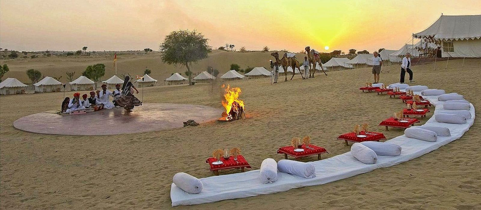 Hotel Manvar Desert Camp & Resort North India