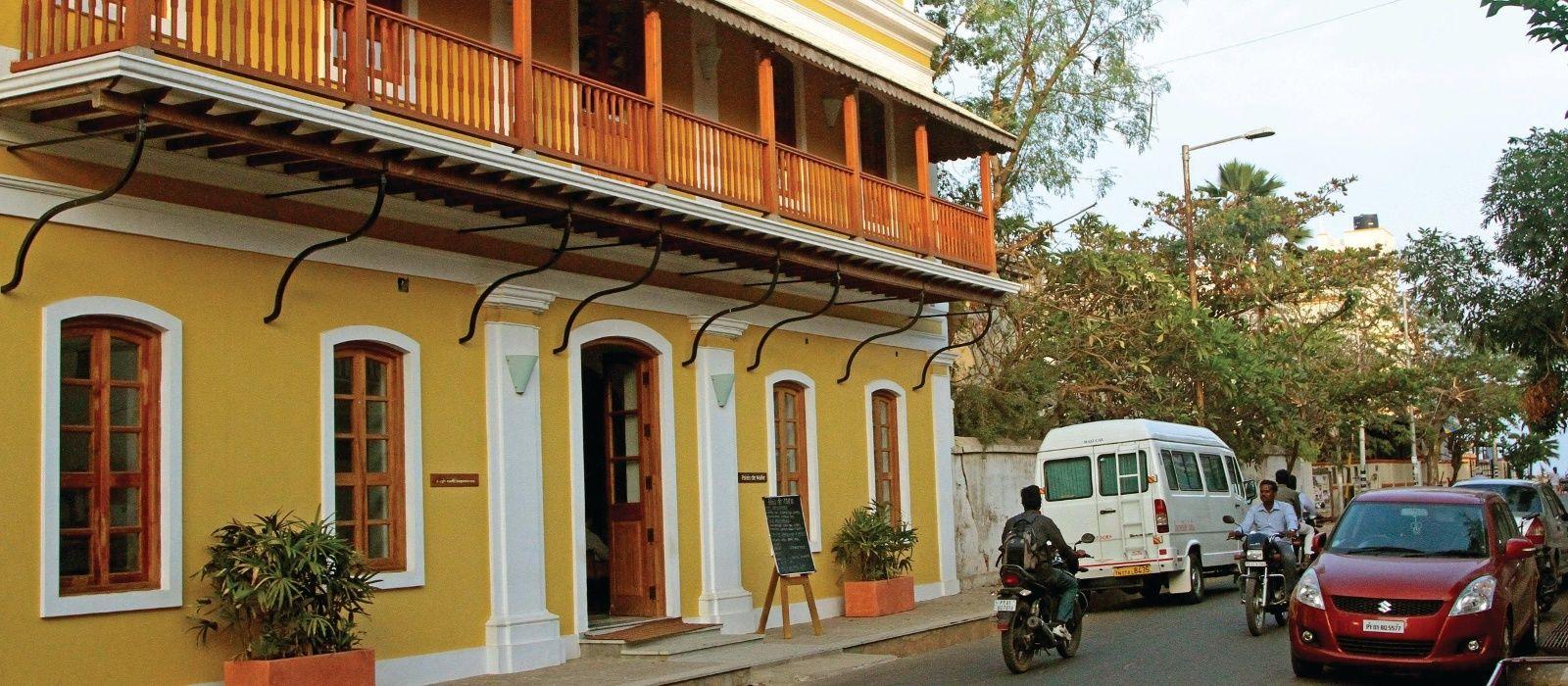 Hotel Palais De Mahe Südindien