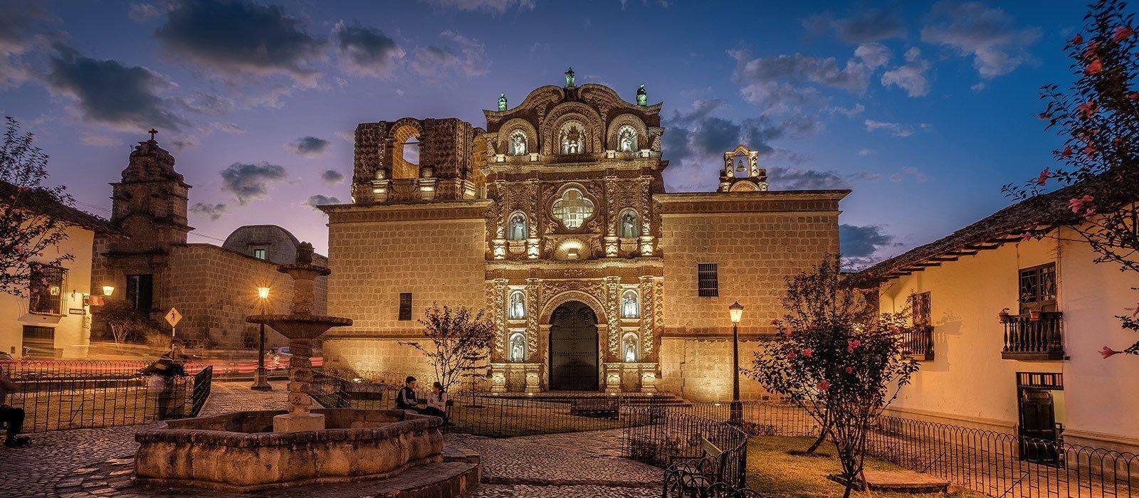 Destination Cajamarca Peru