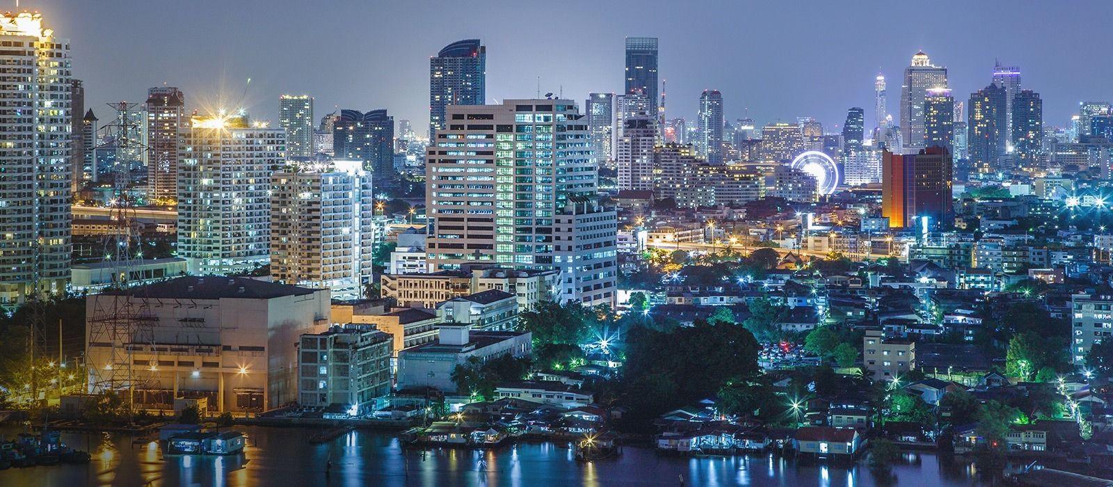 Reiseziel Bangkok Thailand