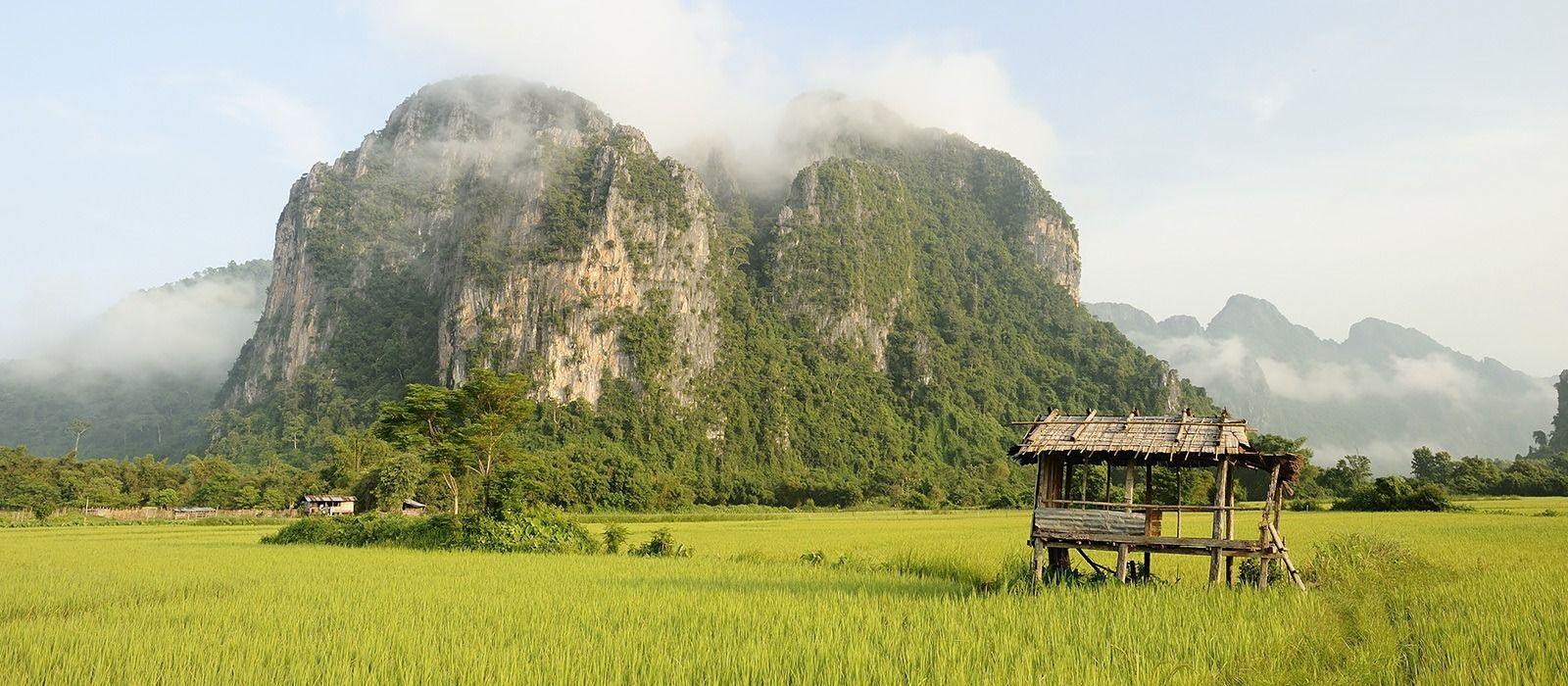 Laos Reise zu Lande und zu Wasser Urlaub 6