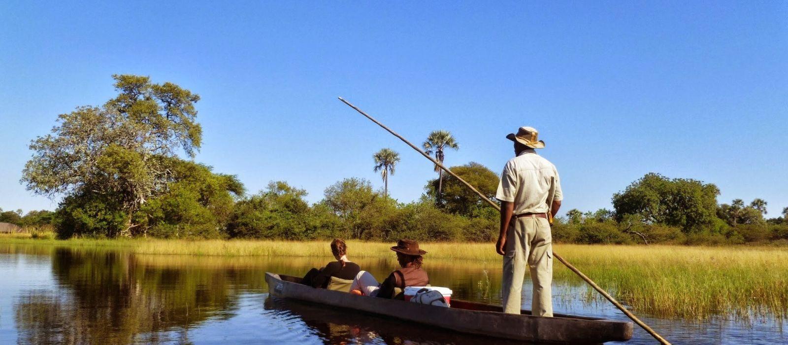 Botswanas glitzernde Wasserwunderwelten Urlaub 4
