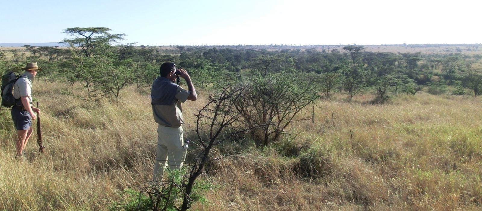 Destination Masai Mara Walking Safari Kenya