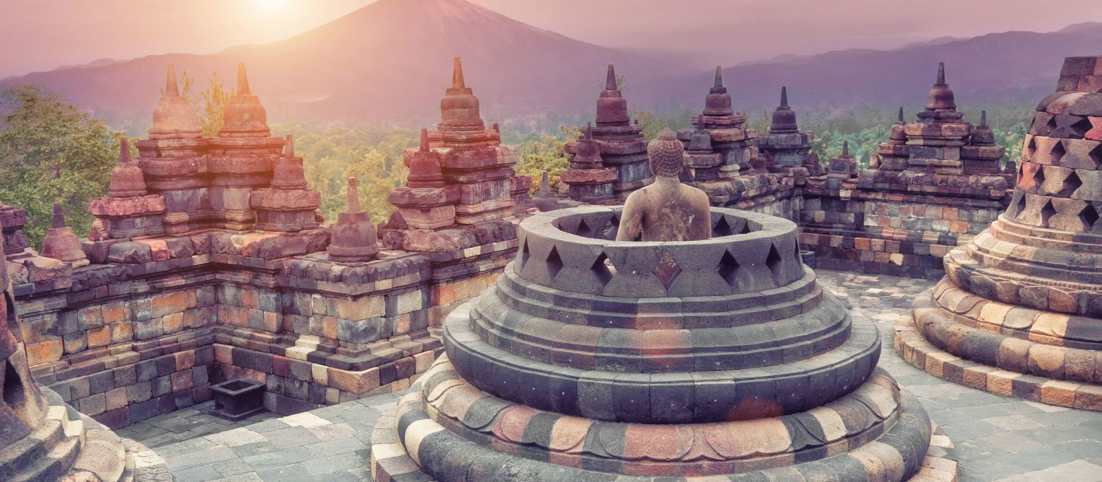 Destination Borobudur Indonesia
