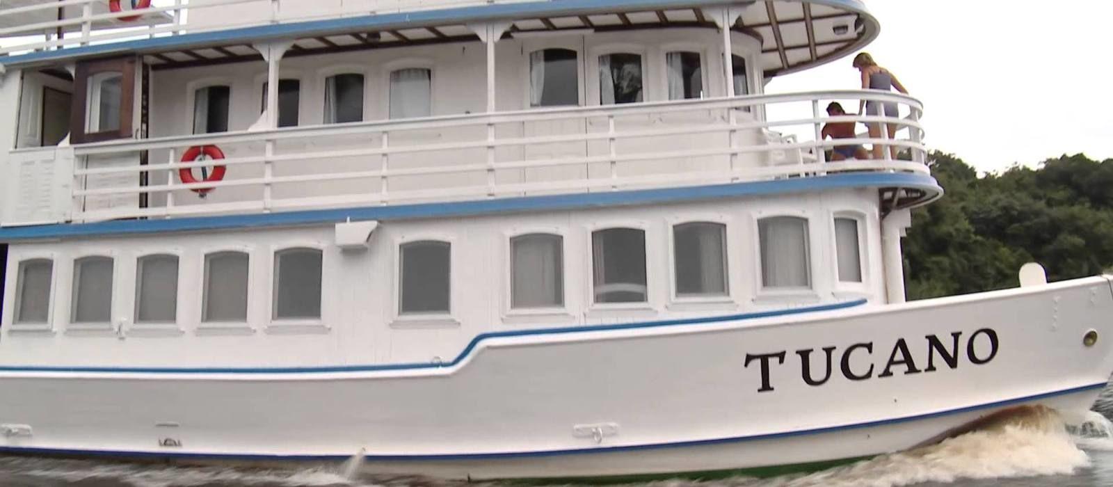 Hotel Motor Yacht Tucano Brazil