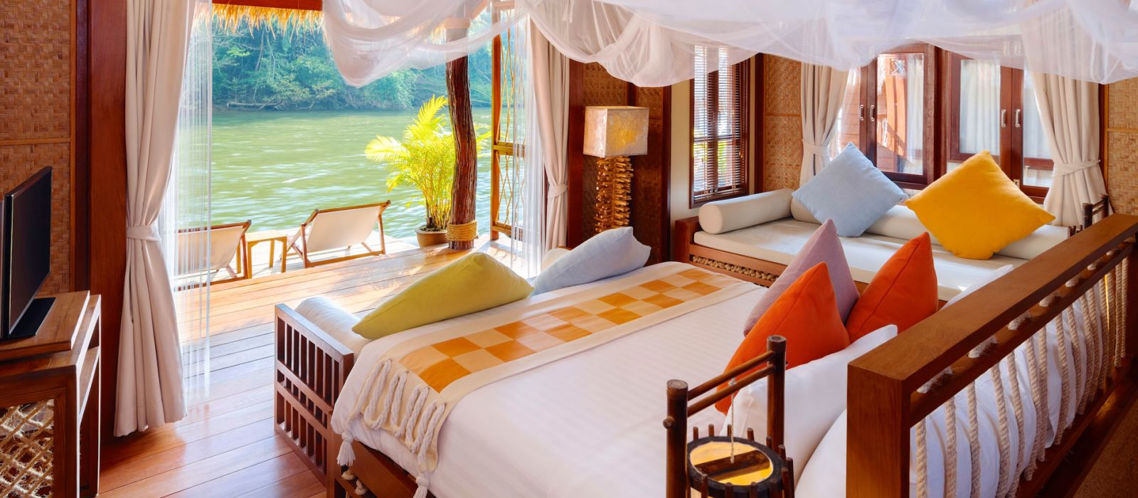 Hotel Float House River Kwai Resort Thailand
