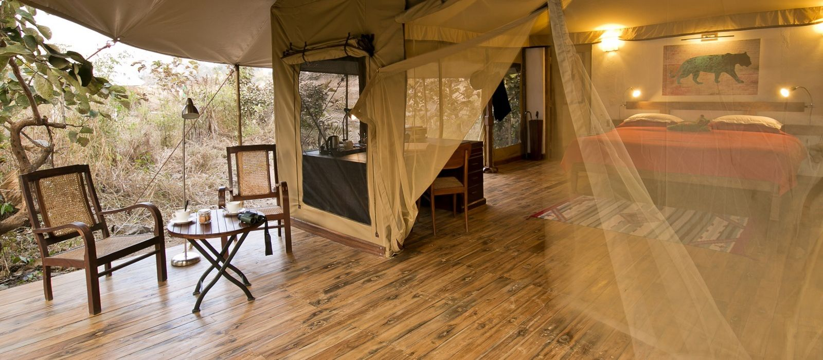 Hotel Jamtara Wilderness Camp Central & West India