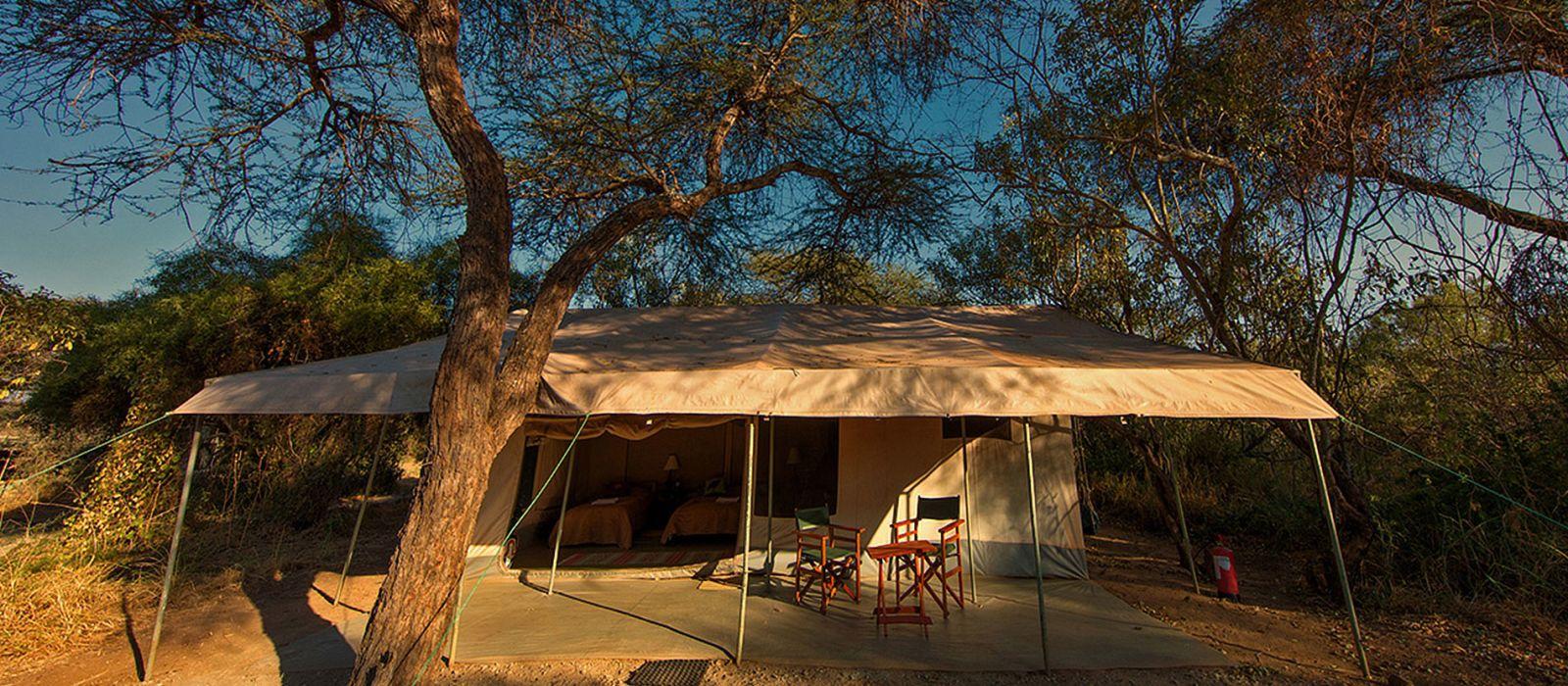 Hotel Amboseli Porini Adventure Camp Kenia