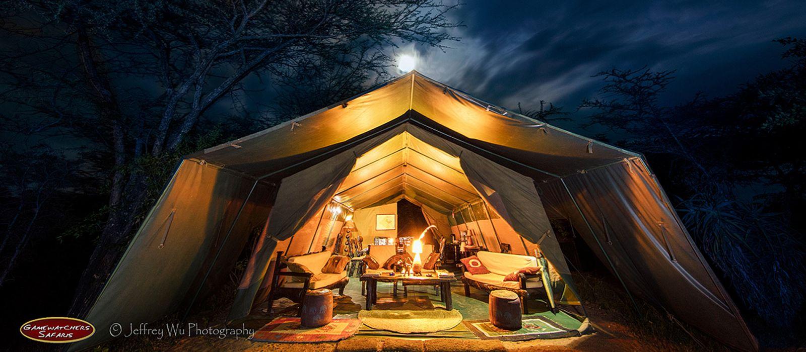 Hotel Masai Mara Porini Adventure Camp Kenya