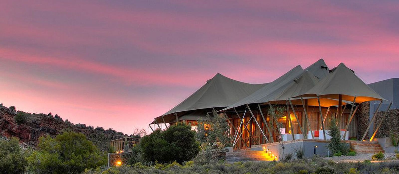 Hotel Sanbona Dwyka Tented Lodge South Africa
